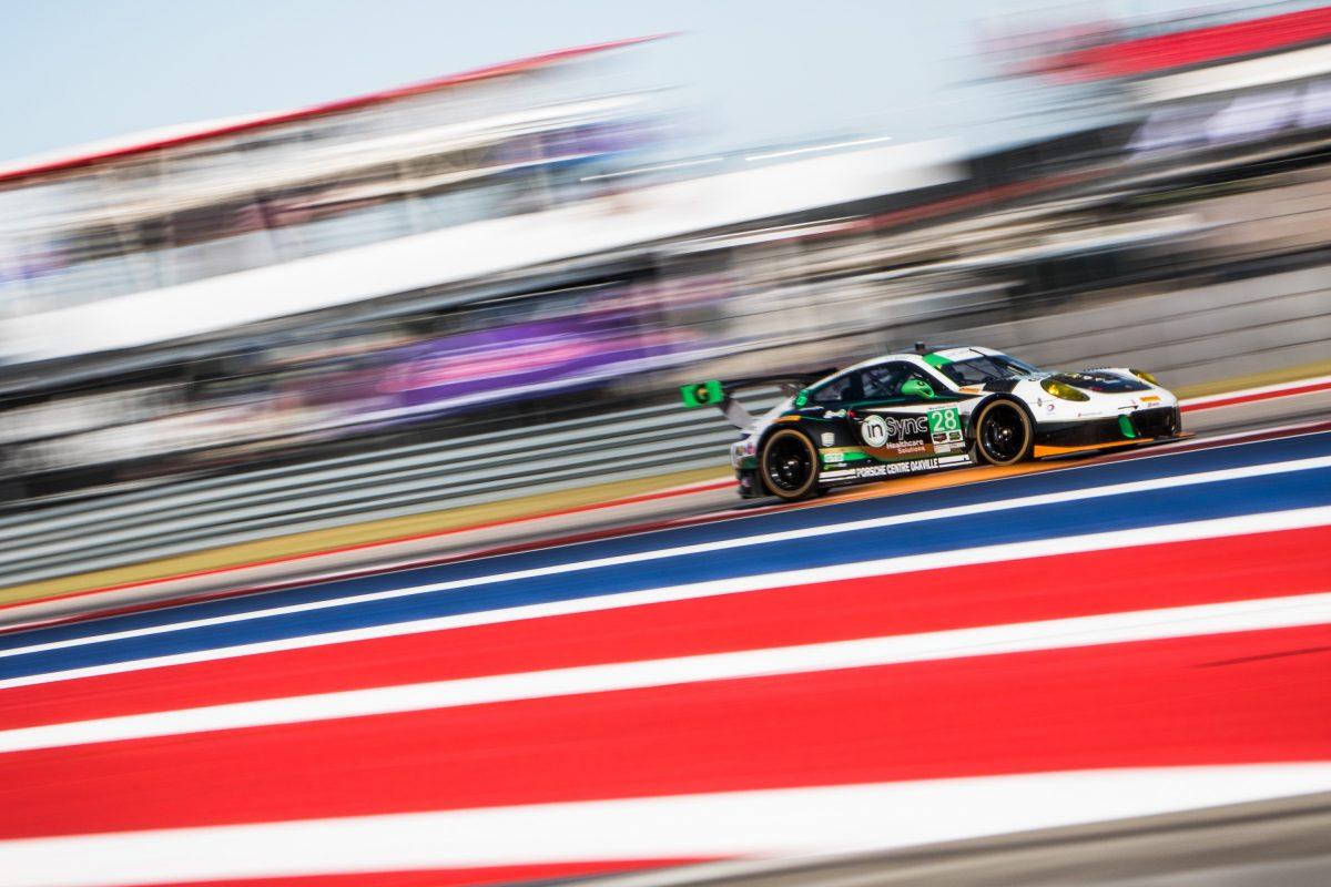 Porsche GT3 R at COTA