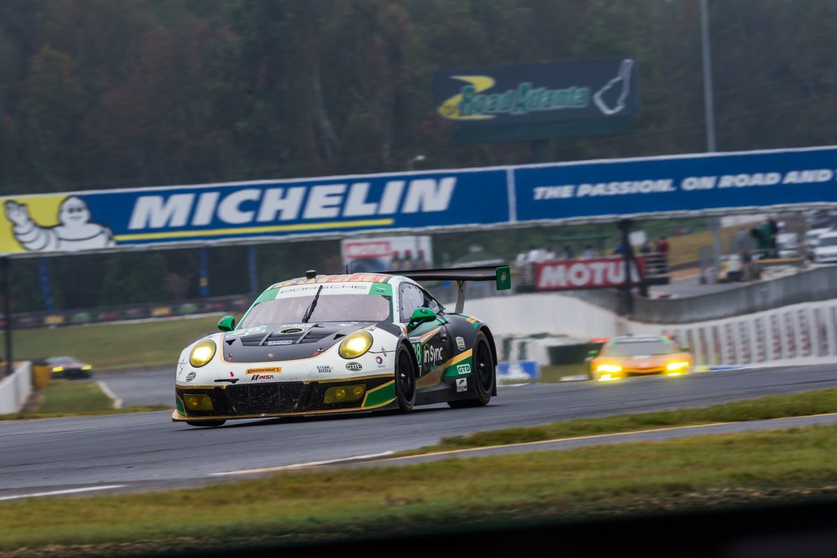 Alegra Motorsports No 28 car at Petit Le Mans