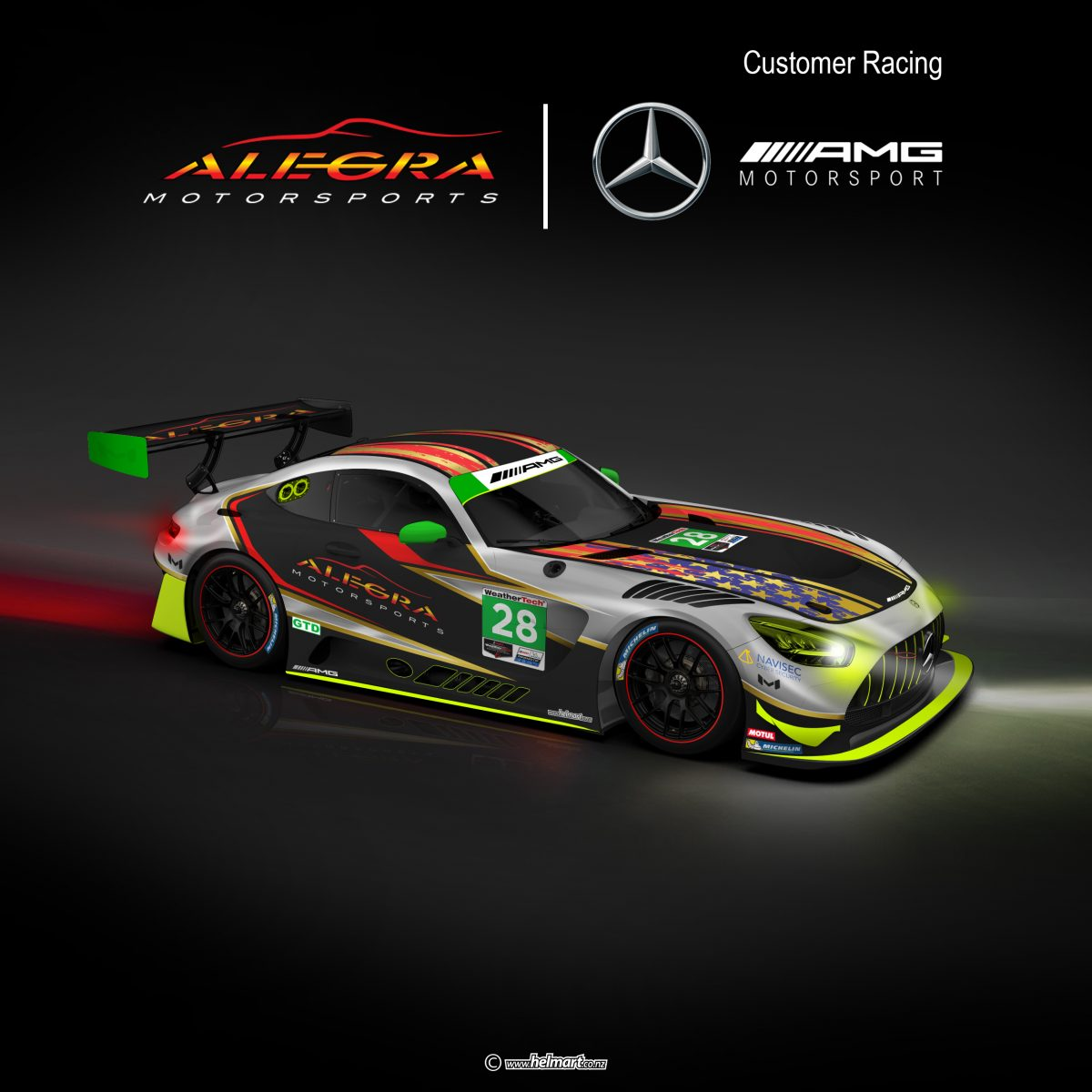 Alegra Mercedes-AMG GT3 Evo